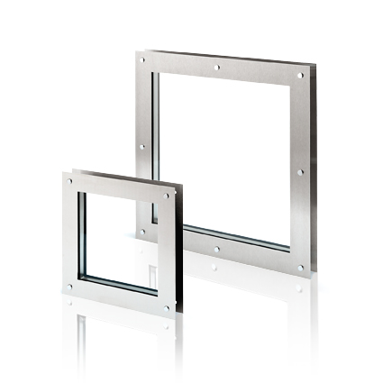 Square vision panels for doors for Door vision panel